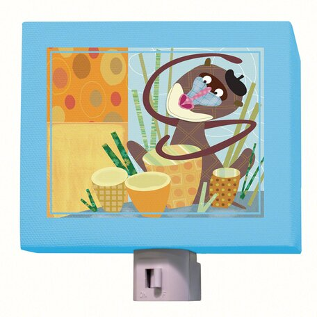 Baboon Beat Night Light by Oopsy Daisy
