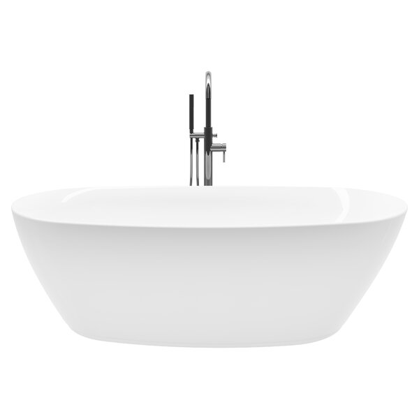 Sequana 71 x 21 Freestanding Soaking Bathtub Kit by A&E Bath and Shower