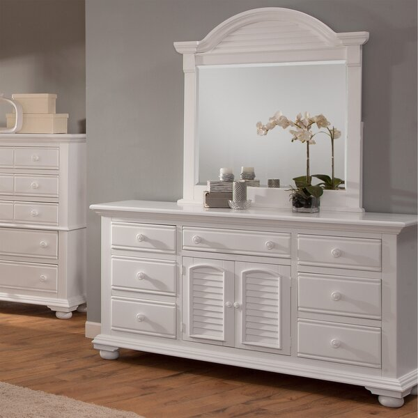 Morpeth 7 Drawer Wood Dresser by Three Posts