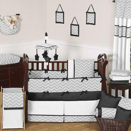 Zig Zag 9 Piece Crib Bedding Set by Sweet Jojo Designs