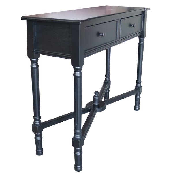 August Grove Black Console Tables