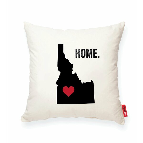 Pettry Idaho Cotton Throw Pillow by Wrought Studio