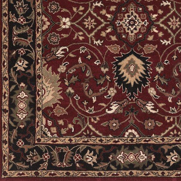 Graziani Oriental Handmade Tufted Wool Black Area Rug