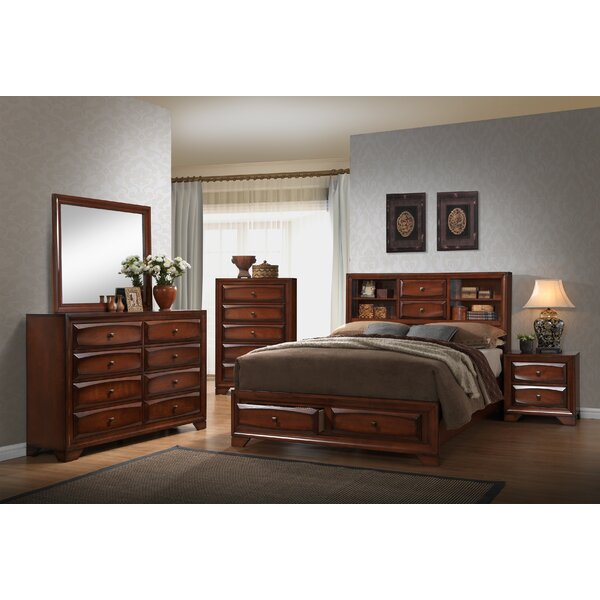Yuvi Standard 6 Piece Bedroom Set by Winston Porter
