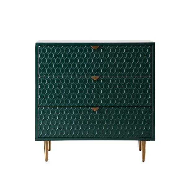 3 Drawer Accent Chest By Everly Quinn