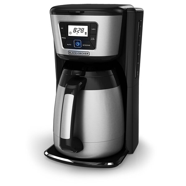 12-Cup Thermal Programmable Coffee Maker by Black + Decker