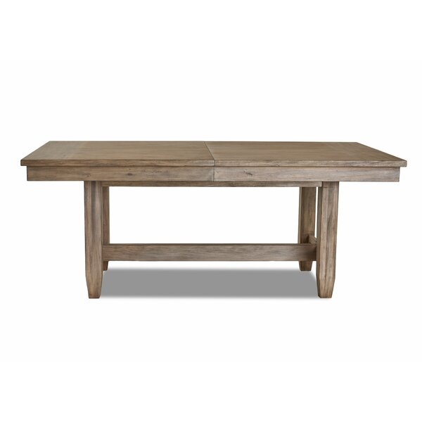 Ariel Solid Wood Dining Table by Gracie Oaks