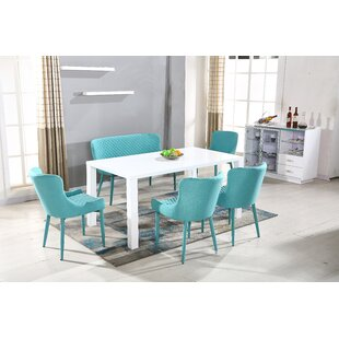 Best Choices Hollingsworth Dining Table by Ebern Designs