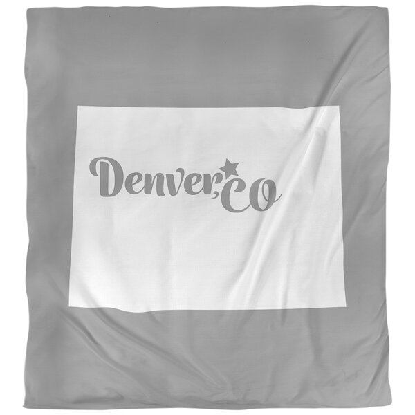 Denver Colorado Duvet Cover