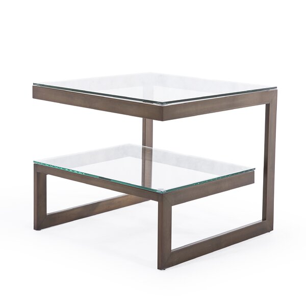 Naples End Table By Blink Home