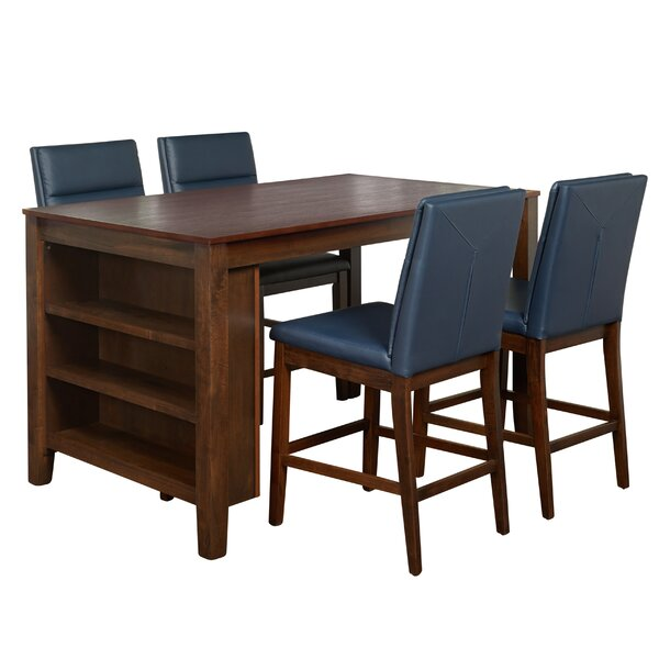 Manawa 5 Piece Pub Table Set by Red Barrel Studio
