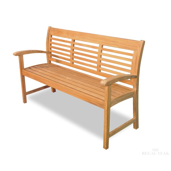 Teak Westerly Garden Bench by Regal Teak