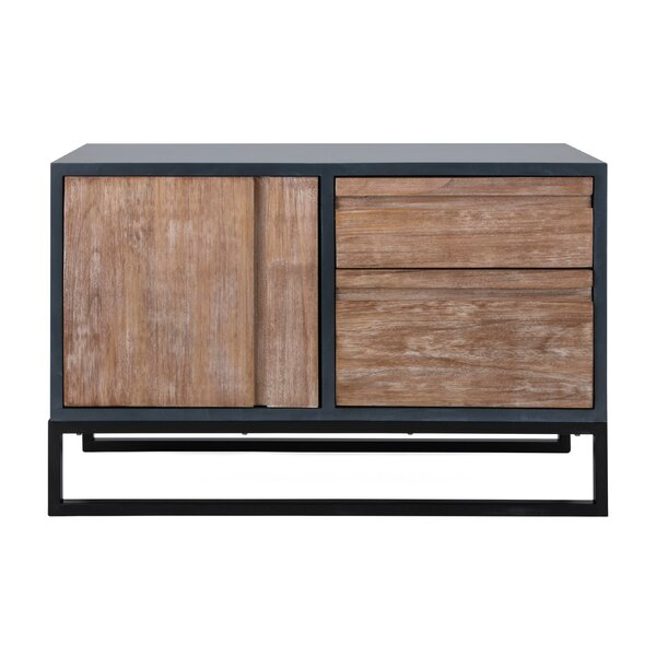 Pichardo Spacious MDF Wood 1 Door Accent Cabinet by Williston Forge