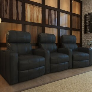 Home Theater Recliner (Row of 3) Red Barrel Studio