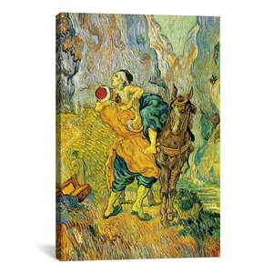 'The Good Samaritan' by Vincent Van Gogh Painting Print on Canvas by iCanvas