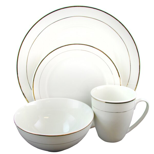 Shiela 16 Piece Dinnerware Set, Service for 4 by Gracie Oaks