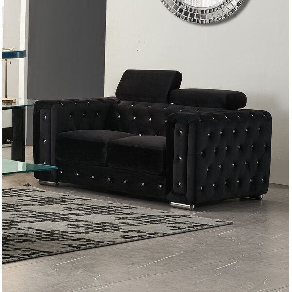 Gaona Loveseat By Everly Quinn