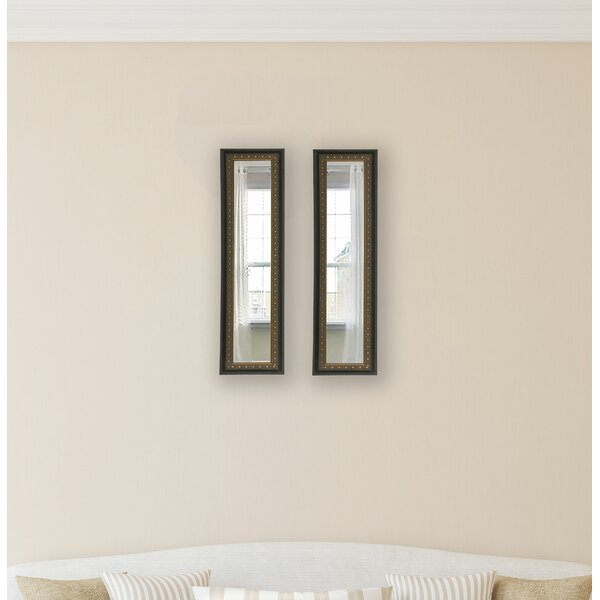 2 Piece Derrill Panel Mirror Set (Set of 2) by Astoria Grand