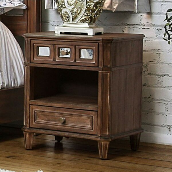 Izola 2 Drawer Nightstand By Darby Home Co by Darby Home Co Spacial Price