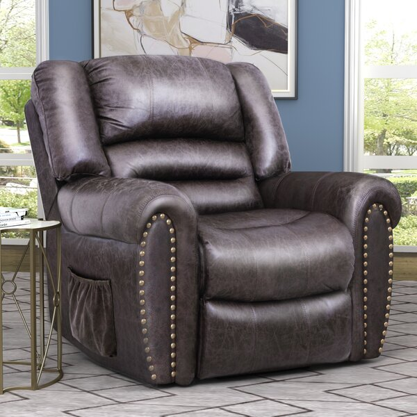 Faux Leather Power Recliner W003238532