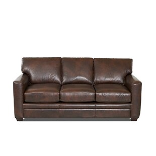 Carleton Leather Sofa Bed