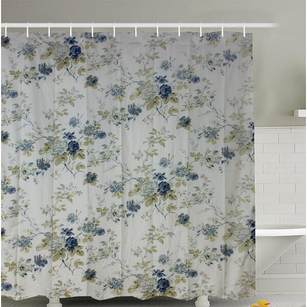 Forgard Roses Shower Curtain by August Grove