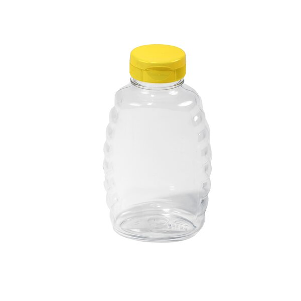Little Giant 16 Oz. Plastic Honey Squeeze Jar (Set