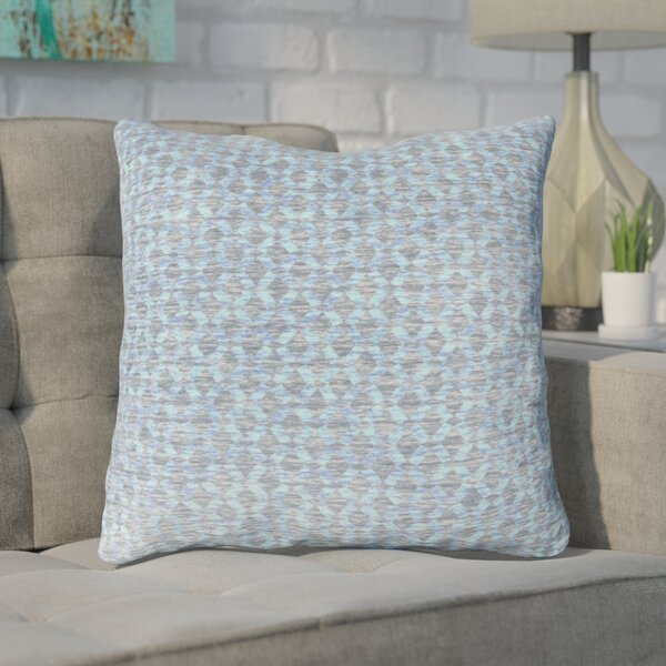 Foerster Geometric Diamond Throw Pillow by Ivy Bronx