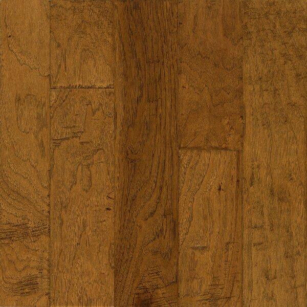 Frontier 5 Engineered Hickory Hardwood Flooring in Golden Brown by Armstrong Flooring