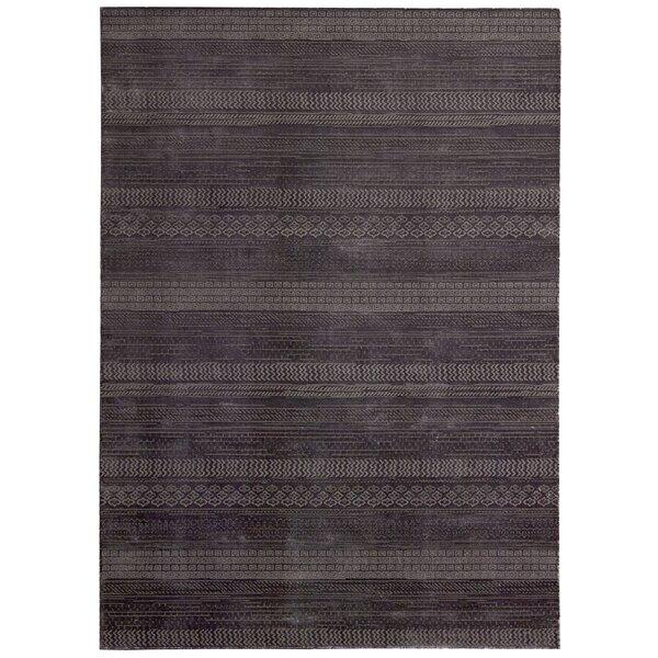 Maya Hand Woven Wool Delta Wineberry Area Rug by Calvin Klein
