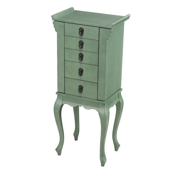 Bryant Free Standing Jewelry Armoire by August Grove