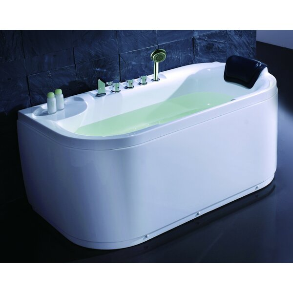 Acrylic 60 x 29.5 Freestanding Soaking Bathtub by EAGO