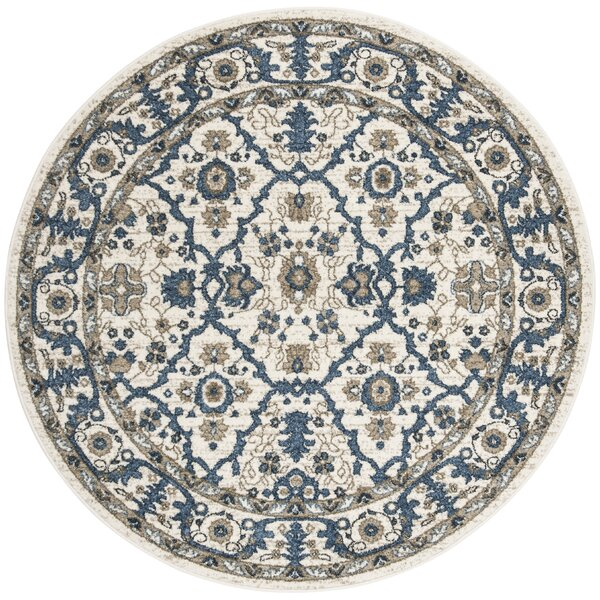 Buterbaugh Cream Area Rug by Charlton Home