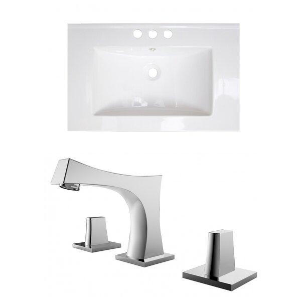 Kemmel Ceramic 30 Single Bathroom Vanity Top