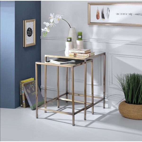 Nimah 2 Piece Nesting Tables By Brayden Studio