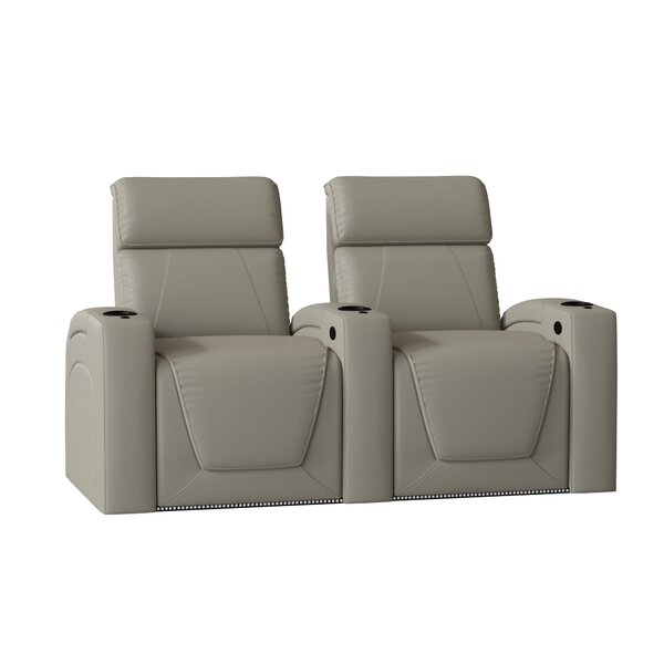 Zone HR Series Curved Home Theater Recliner (Row Of 2) By Winston Porter
