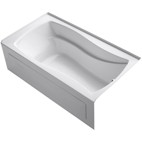 Mariposa Alcove 66 x 36 Soaking Bathtub by Kohler