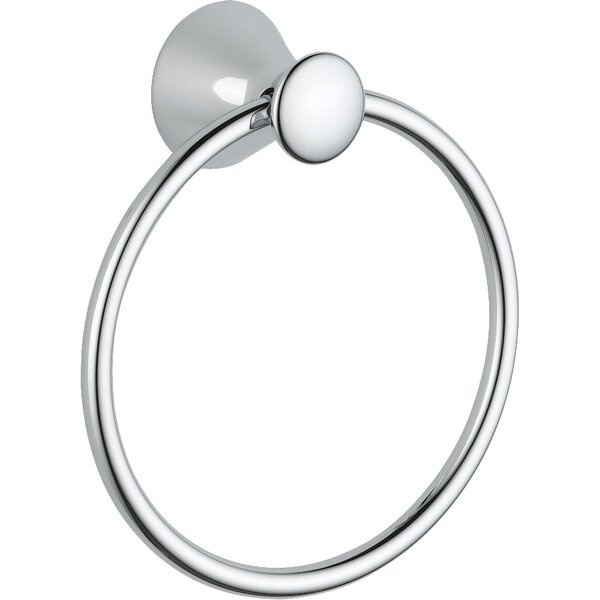 Lahara Wall Mounted Towel Ring by Delta