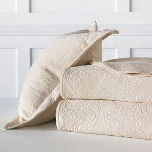 sandrine matelasse cotton coverlet