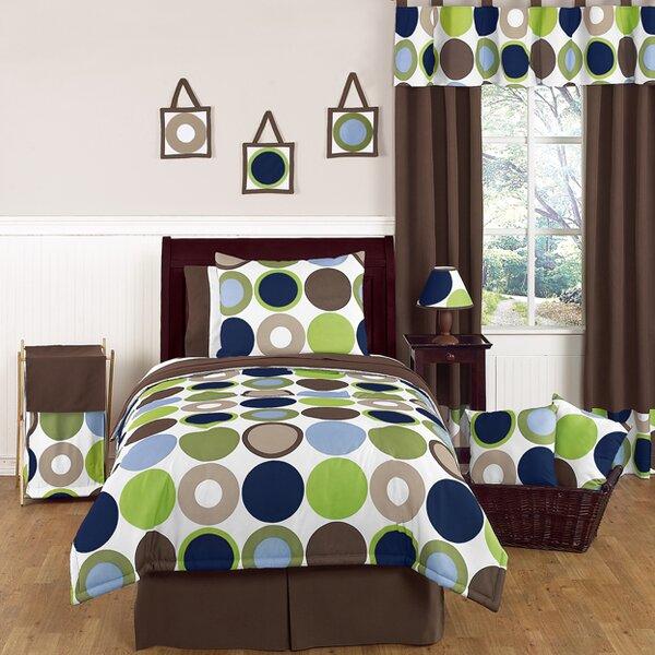 Designer Dot 4 Piece Twin Comforter Set by Sweet Jojo Designs