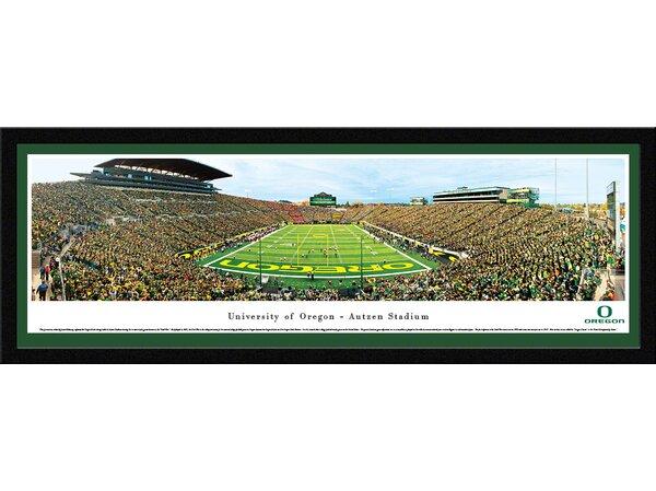 NCAA Oregon, University of - Civil War by James Blakeway Framed Photographic Print by Blakeway Worldwide Panoramas, Inc
