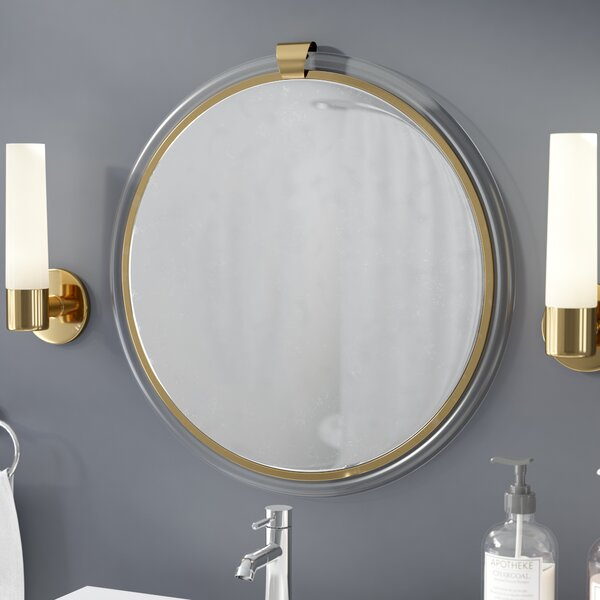 Round Acrylic Wall Mirror by Everly Quinn