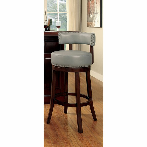 Emest Swivel Bar & Counter Stool By Fleur De Lis Living