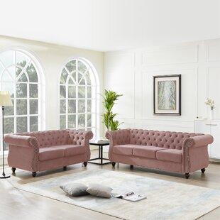 Gledhill 2 Piece Standard Living Room Set by Rosdorf Park