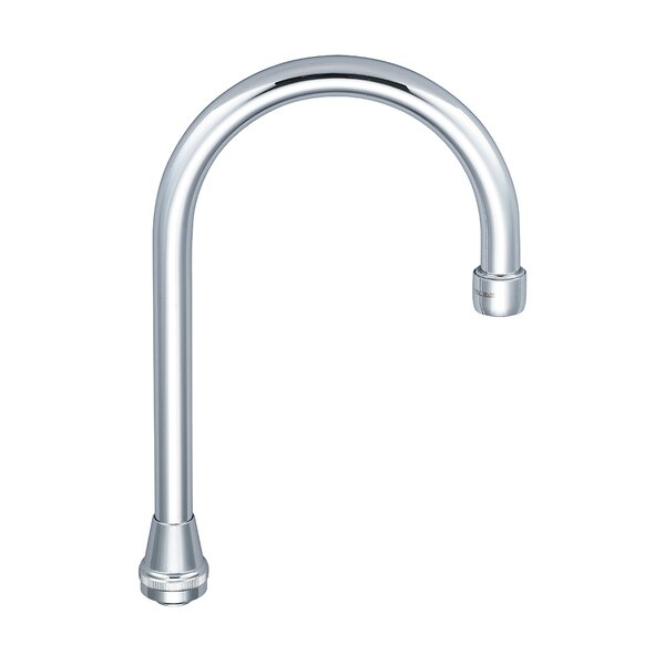 Swivel Gooseneck Spout with Aerator by Central Brass