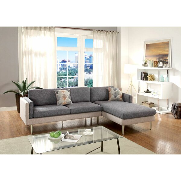 Benavides Upper Strode Reversible Sectional by Ivy Bronx
