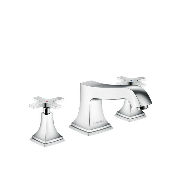 Metropol Double Handle Deck Mounted Roman Tub Faucet Trim by Hansgrohe Hansgrohe