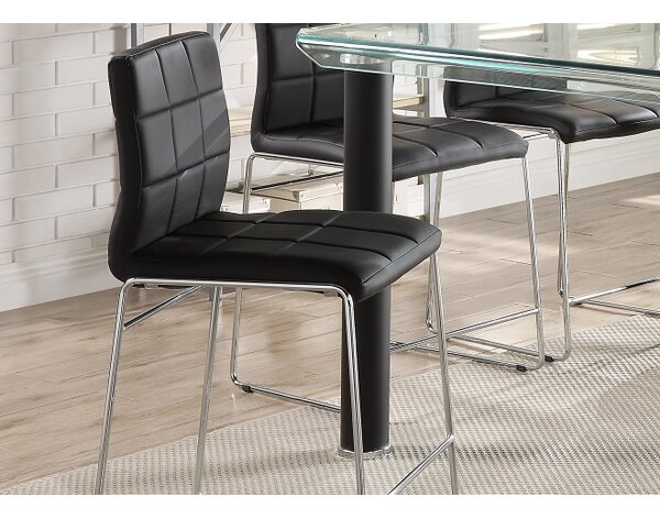 Len Upholstered Dining Chair (Set of 2) by Orren Ellis