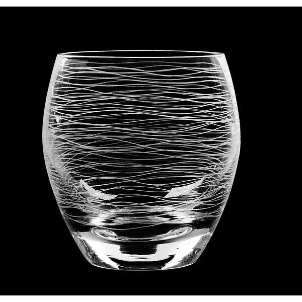 Graffiti DOF Glass (Set of 4) by Qualia Glass