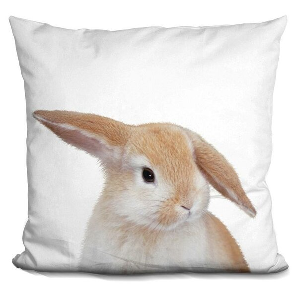 Banny Throw Pillow by East Urban Home